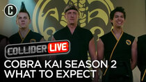 Collider Live - Episode 54 - What Surprises Will We See in Cobra Kai Season 2? (#105)