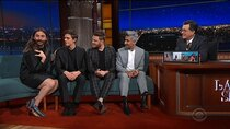 The Late Show with Stephen Colbert - Episode 123 - Nathan Lane, Antoni Porowski, Bobby Berk, Jonathan Van Ness,...