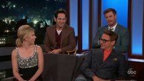 Jimmy Kimmel Live - Episode 50 - Robert Downey Jr., Scarlett Johansson, Paul Rudd, Chris Hemsworth,...