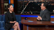 The Late Show with Stephen Colbert - Episode 126 - Sandra Oh, Zachary Levi, Nina Nesbitt