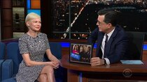 The Late Show with Stephen Colbert - Episode 129 - Michelle Williams, Emily Bazelon, Oscar the Grouch