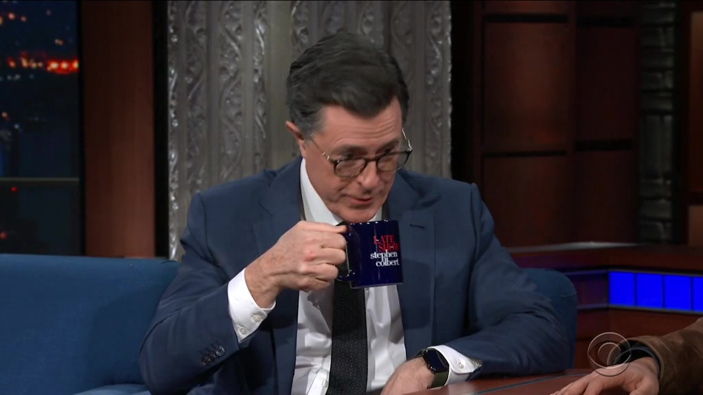 Screenshot of The Late Show with Stephen Colbert Season 4 Episode 131 (S04E131)