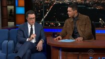The Late Show with Stephen Colbert - Episode 131 - Molly Shannon, Gary Cole, Paul Simon, Trevor Noah