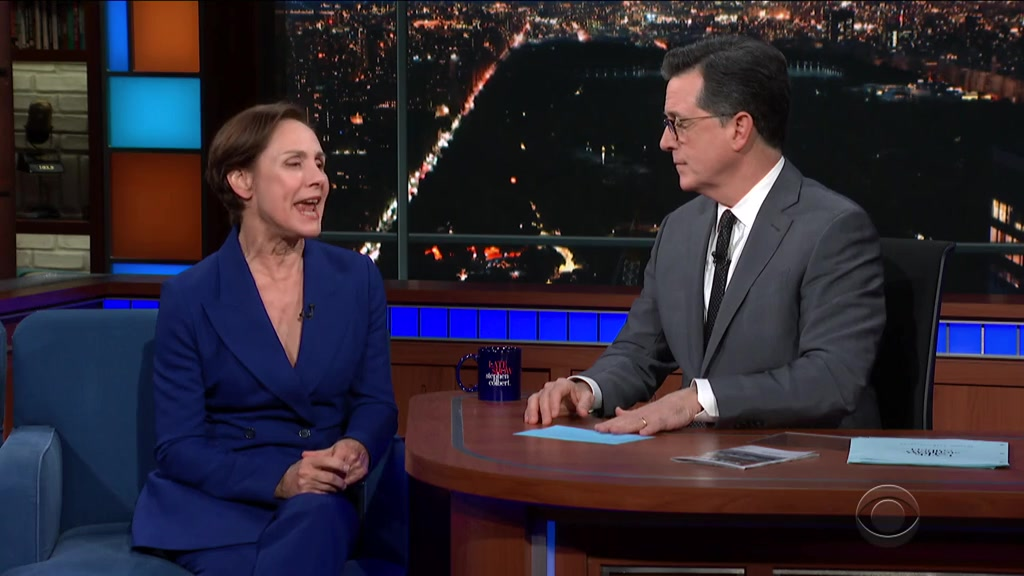Screenshot of The Late Show with Stephen Colbert Season 4 Episode 132 (S04E132)