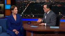 The Late Show with Stephen Colbert - Episode 132 - Laurie Metcalf, Ramy Youssef, Cage the Elephant