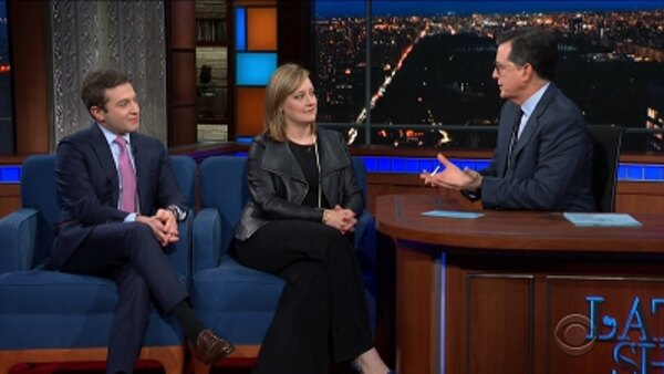 "The Late Show with Stephen Colbert - S04E133 - Anna Palmer, Jake Sherman, The Lumineers, ""The Avengers"" cast, Peter Grosz"