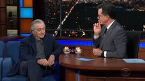 The Late Show with Stephen Colbert - Episode 135 - Robert De Niro, Beth Behrs, Retta