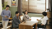 Mother of Mine - Episode 13 - Mi Hye Signing the Contract with Woo Jin