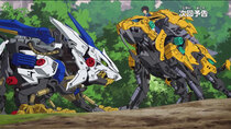 Zoids Wild - Episode 2 - Invasion! Death Metal