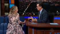 The Late Show with Stephen Colbert - Episode 137 - Christina Applegate, Van Jones