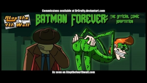 Atop the Fourth Wall - S11E17 - Batman Forever: The Official Comic Adaptation