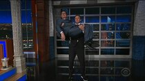 The Late Show with Stephen Colbert - Episode 139 - Chris Cuomo, Nicholas Hoult, Lily Collins, James Taylor