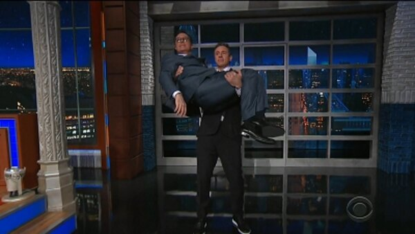 The Late Show with Stephen Colbert - S04E139 - Chris Cuomo, Nicholas Hoult, Lily Collins, James Taylor