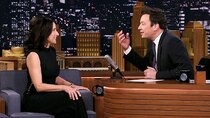 "The Tonight Show Starring Jimmy Fallon - Episode 107 - Julia Louis-Dreyfus, Joel Kinnaman, cast of ""Ain't Too Proud""..."