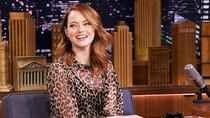 The Tonight Show Starring Jimmy Fallon - Episode 118 - Emma Stone, Tracy Pollan, Michael J. Fox, Tank and the Bangas