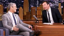 The Tonight Show Starring Jimmy Fallon - Episode 123 - Andy Cohen, Pete Davidson, Mario, Michael, & Marco Andretti,...