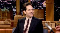 The Tonight Show Starring Jimmy Fallon - Episode 128 - Paul Rudd, Diane Guerrero, Leonard Ouzts