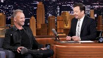 The Tonight Show Starring Jimmy Fallon - Episode 129 - Sting, KJ Apa