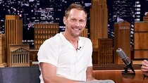 The Tonight Show Starring Jimmy Fallon - Episode 132 - Alexander Skarsgård, Sebastian Stan, Fontaines D.C.