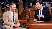 The Tonight Show Starring Jimmy Fallon - Episode 133 - Ryan Reynolds, Rosie Huntington-Whiteley, Protoje