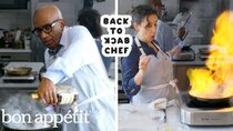 Back to Back Chef - Episode 16 - Al Roker Tries to Keep Up with a Professional Chef