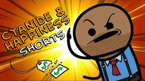 Cyanide & Happiness Shorts - Episode 9 - Half Off