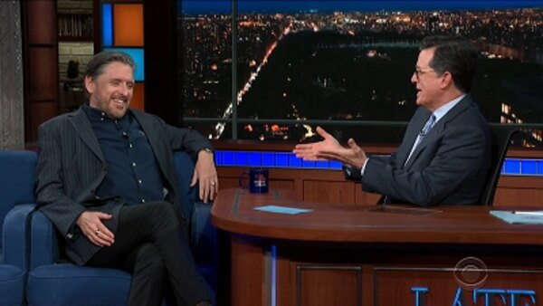 The Late Show with Stephen Colbert - S04E140 - Craig Ferguson, Ronda Rousey, Bear Grylls