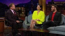 The Late Late Show with James Corden - Episode 112 - Charlize Theron, Seth Rogen, Lauren Jauregui