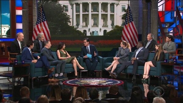 The Late Show with Stephen Colbert - S04E144 - The Cast of Veep
