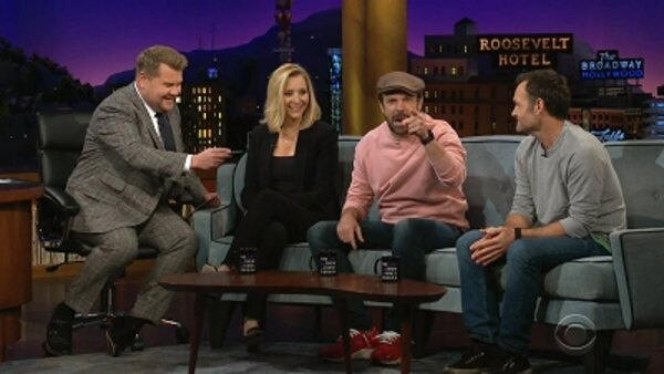 The Late Late Show with James Corden - S04E116 - Lisa Kudrow, Will Forte, Jason Sudeikis, Sarah Tollemache