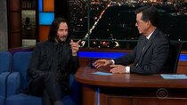 The Late Show with Stephen Colbert - Episode 145 - Keanu Reeves, Santino Fontana
