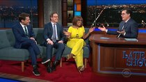 The Late Show with Stephen Colbert - Episode 147 - Gayle King, Anthony Mason, Tony Dokoupil, Pete Holmes, The National