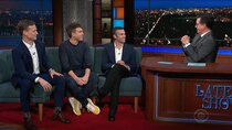 The Late Show with Stephen Colbert - Episode 148 - Jon Favreau, Jon Lovett, Tommy Vietor, BTS