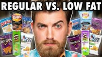 Good Mythical Morning - Episode 3 -  Low Fat vs. Regular Chips Taste Test