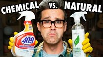 Good Mythical Morning - Episode 6 - Name Brand vs. Natural Cleaning Product Test