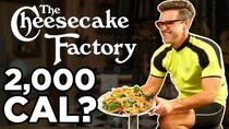 Good Mythical Morning - Episode 14 -  Cheesecake Factory Calorie Challenge