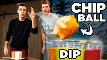 Good Mythical Morning - Episode 16 -  Chip Dip Pong - FOOD SPORTS