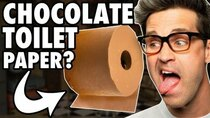 Good Mythical Morning - Episode 27 -  Covering Weird Things In Chocolate (GAME)