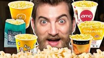 Good Mythical Morning - Episode 31 -  Movie Theater Popcorn Taste Test