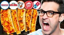 Good Mythical Morning - Episode 35 -  Blind Pizza Crust Taste Test