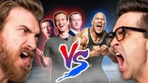 Good Mythical Morning - Episode 52 -  The Rock Vs. 3 Mark Zuckerbergs: Who would win?