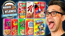 Good Mythical Morning - Episode 58 - March Milkness Taste Test: Fruity Cereals