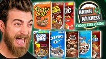 Good Mythical Morning - Episode 59 - March Milkness Taste Test: Chocolate Cereal