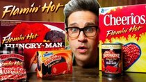 Good Mythical Morning - Episode 74 -  Flamin' Hot Snacks Taste Test