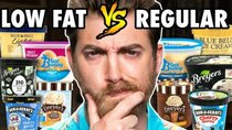 Good Mythical Morning - Episode 80 -  Low Fat vs. Regular Ice Cream Taste Test
