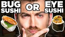Good Mythical Morning - Episode 82 -  Guess The REAL Gross Food (GAME) | 2 FOODS AND A LIE