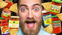 Good Mythical Morning - Episode 84 -  Blind Grocery Store Salsa Taste Test