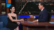 The Late Show with Stephen Colbert - Episode 151 - Julianna Margulies, Adm. William McRaven, The Broadway cast of...