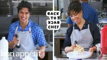 Back to Back Chef - Episode 17 - Charles Melton Attempts To Keep Up with a Professional Chef
