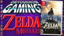 Did You Know Gaming? - Episode 310 - Mistakes in Zelda Games